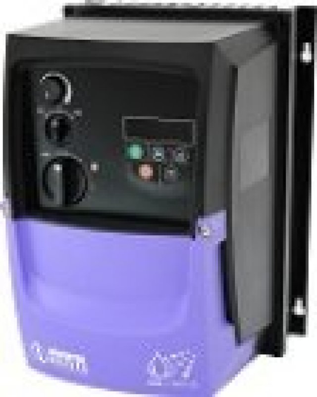 OPTIDRIVE E3 0,37 kW, 230V, IP66, Netzschalter Poti